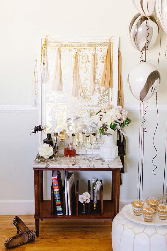 Casamento em casa: alguns móveis talvez precisem sair, enquanto outros podem ser bem úteis.