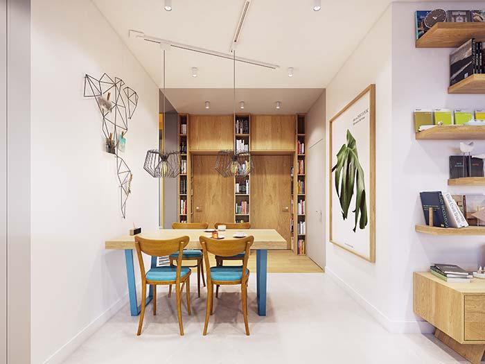 Cimento queimado branco é uma das opções mais resistentes e duráveis de piso