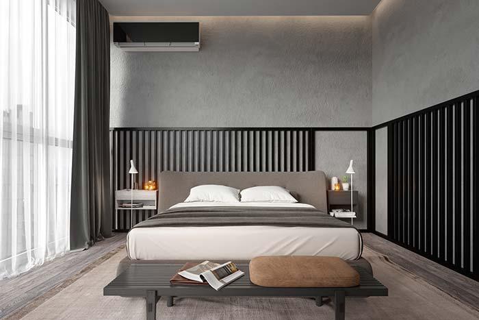 Um toque de preto na decoração moderna