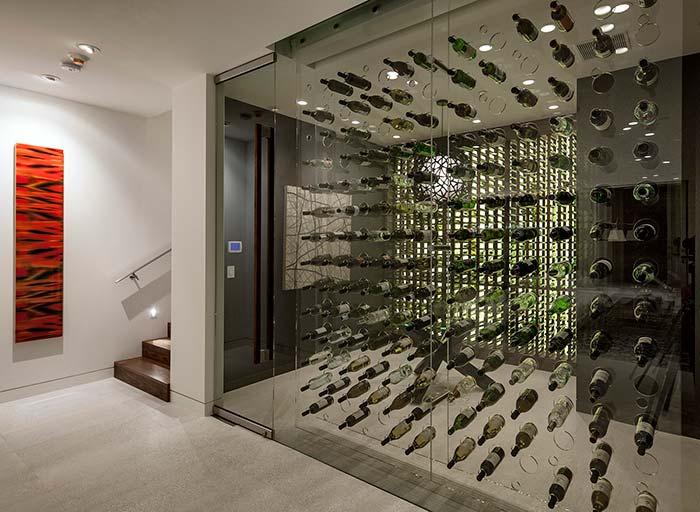 Uma maneira criativa e original de marcar os espaços na decoração moderna