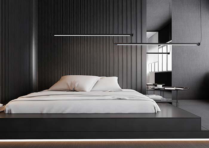 Decoração moderna simples, funcional e estética