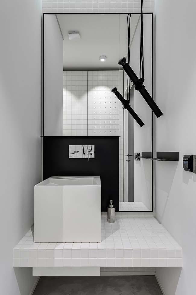 Preto e branco na decoração moderna