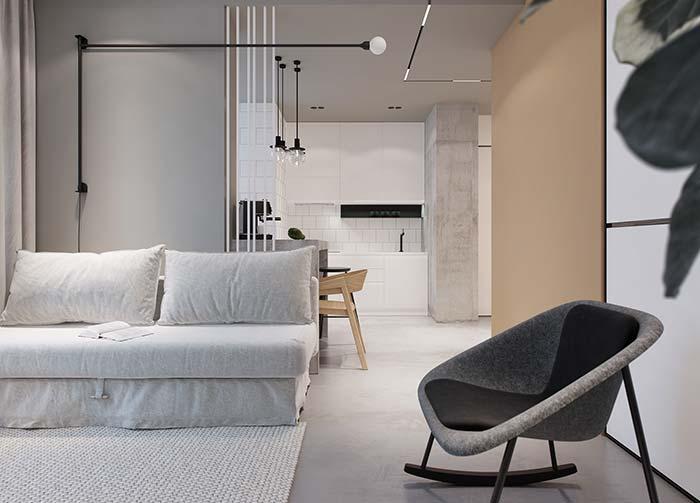 Sofá para sala de estar decorada