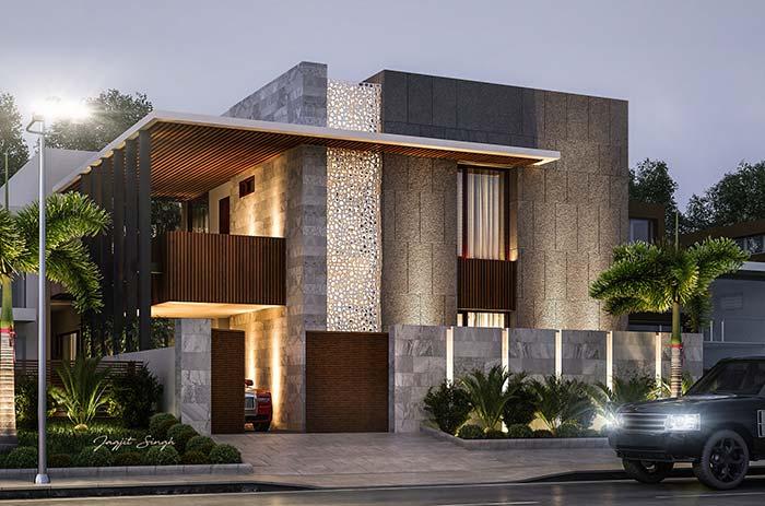 Um projeto arquitetônico desses merece os melhores revestimentos para deixá-lo ainda mais bonito