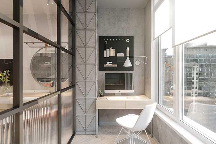 Todos os espaços da casa podem receber influência do estilo industrial