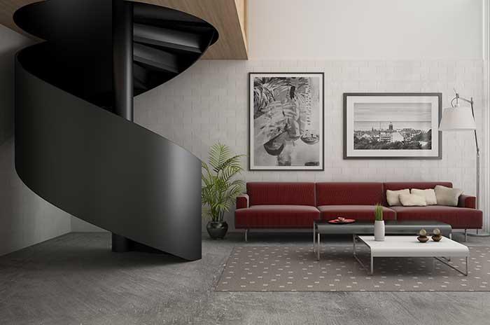 Estilo industrial: essa decoração mescla o estilo industrial urbano com conceitos de arte contemporânea