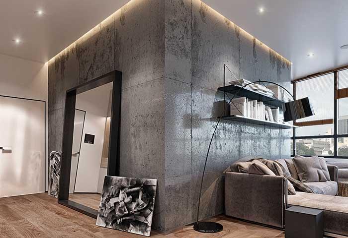 Descomplique: apoie quadros e espelhos na parede, ao invés de fixá-los
