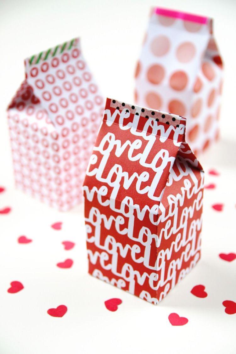 Artesanato em geral: e as caixinhas longa vida podem virar embalagens de presente