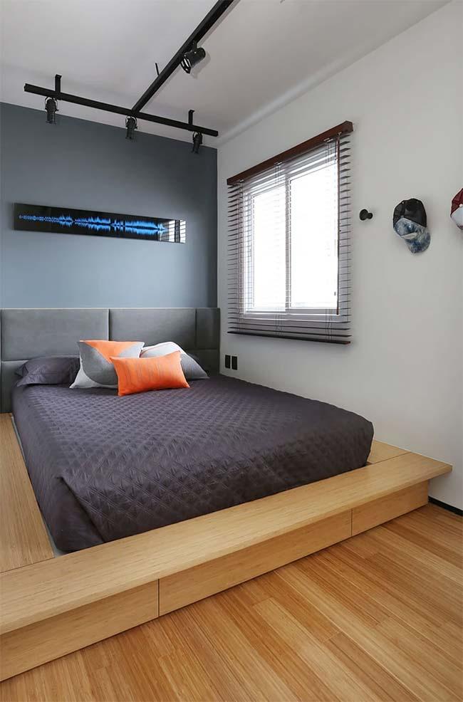 Persiana para quarto moderno na horizontal