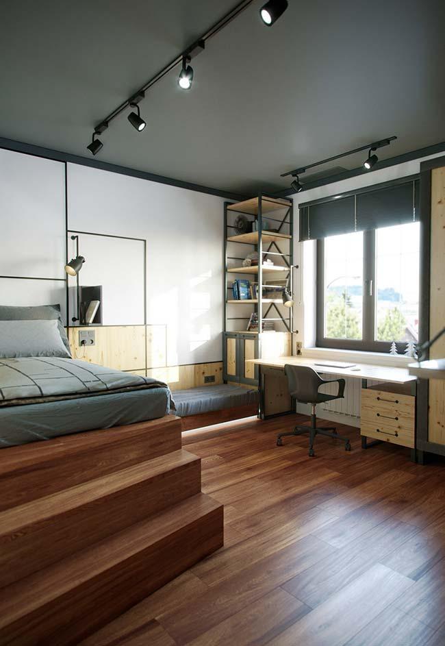 Controle da luminosidade na persiana para quarto