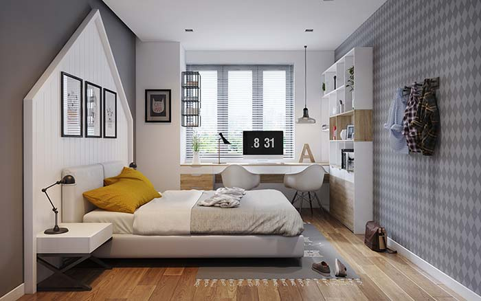 As persianas horizontais são facilmente encontradas em casas de utilidades domésticas