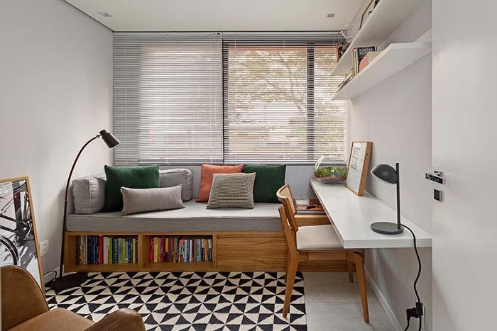 Quanto mais lâminas na persiana para quarto, maior o controle de luz dentro do ambiente