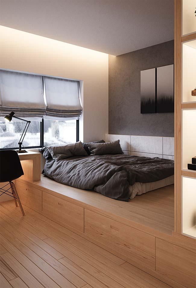 Persiana para quarto: o material escolhido influencia na entrada de luz no cômodo