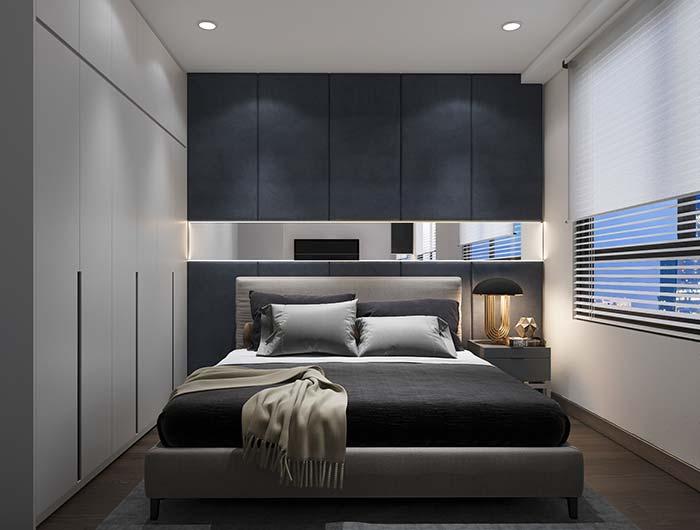 Persiana para quarto: simples e discreta, assim como o restante da decoração do quarto