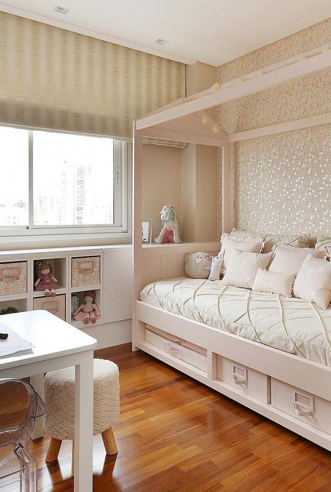 As persianas para quartos podem ter acionamento automático ou manual
