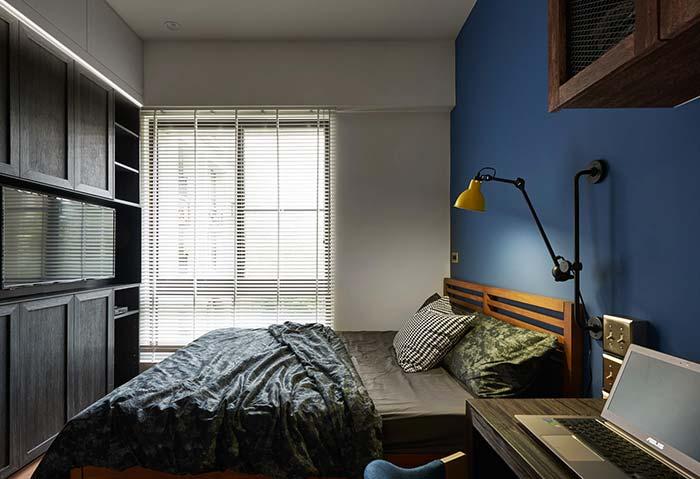 Persiana para quarto na mesma cor da parede