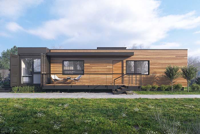 Casa pré-moldada container
