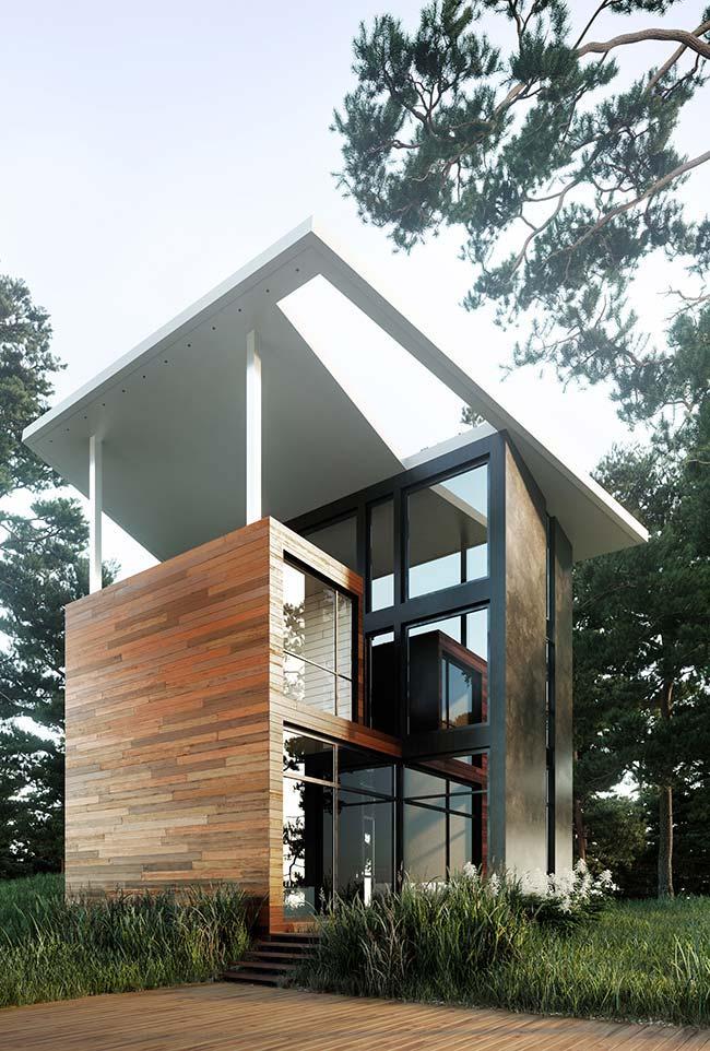 Projeto de casa pré-moldada
