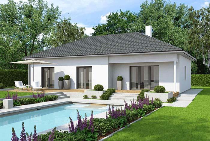 """Casa com """"cara"""" de casa mesmo: tradicional, acolhedora e no tamanho ideal para uma família"""