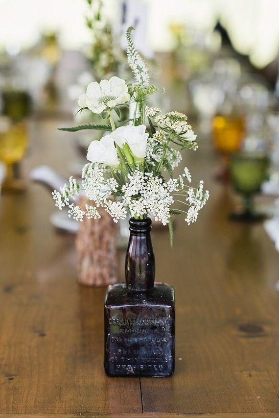 Reaproveitamento de materiais no casamento simples