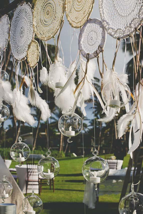Casamento simples com filtro dos sonhos
