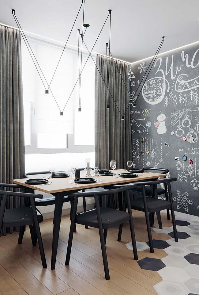 Decore a sala de jantar com personalidade e descontração