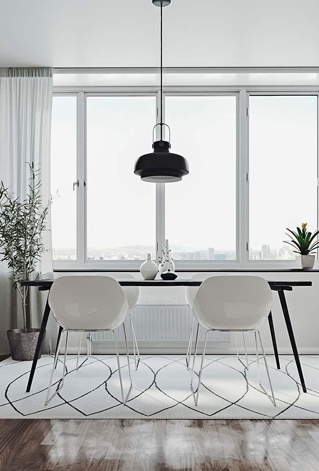 Salas de jantar: clean, suave e cheia de estilo