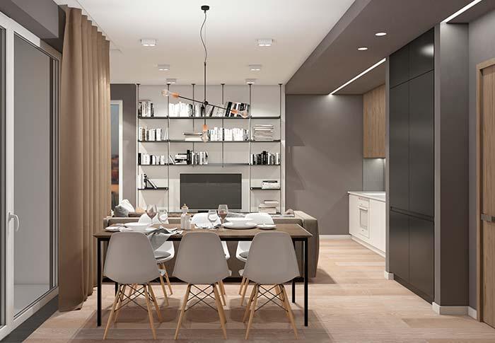 Se optar por usar cadeiras e mesas de estilo completamente diferentes, mantenha harmonia entre as cadeiras