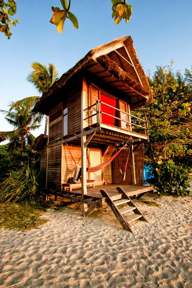 Casa barata para praia