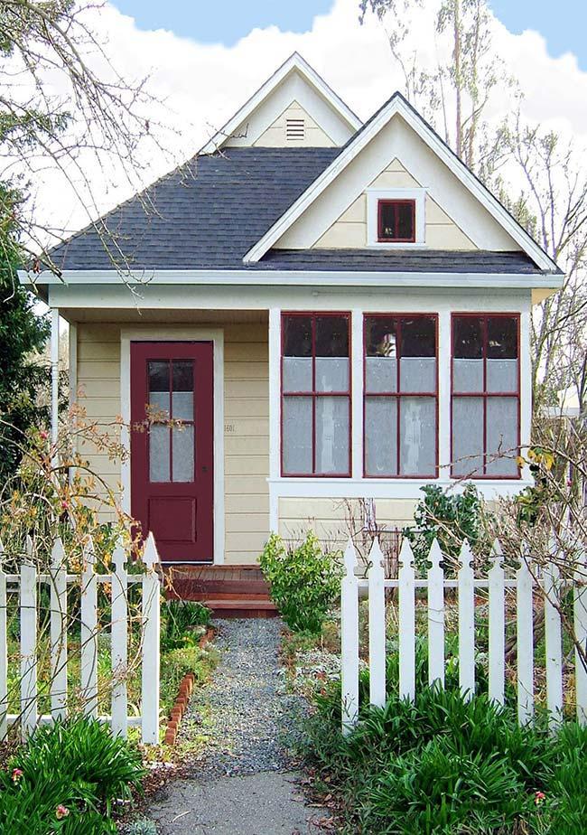 Casa clássica americana barata