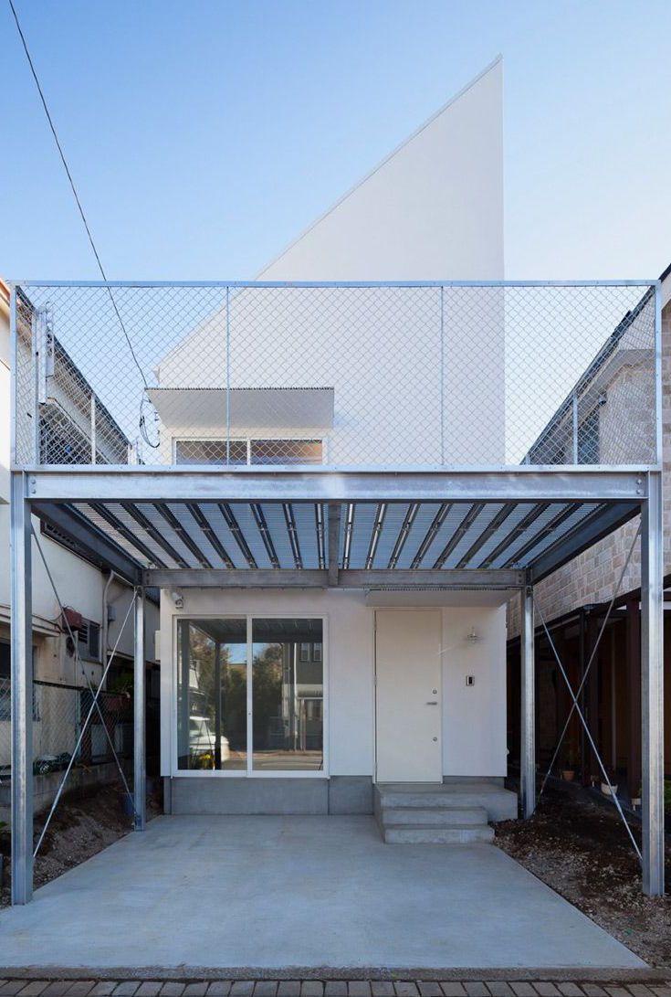 Casa com estrutura de aço (puxadinho)