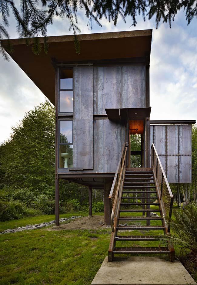Casas baratas: arquitetura moderna empregada na construção pré-moldada