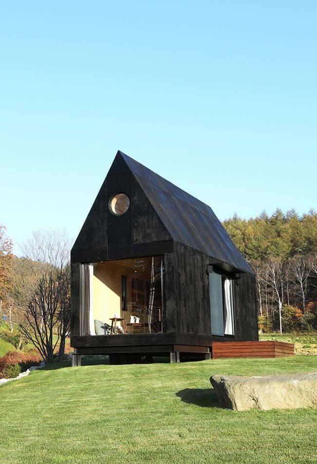 Casa barata em estilo chalé