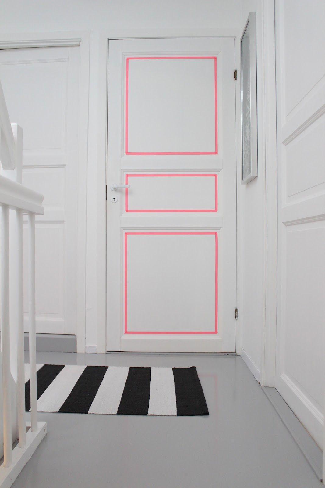 Simples detalhe para fazer a diferença na decoração com fita isolante