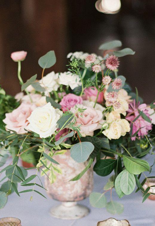 Não só de flores são feitos os arranjos de flores do campo