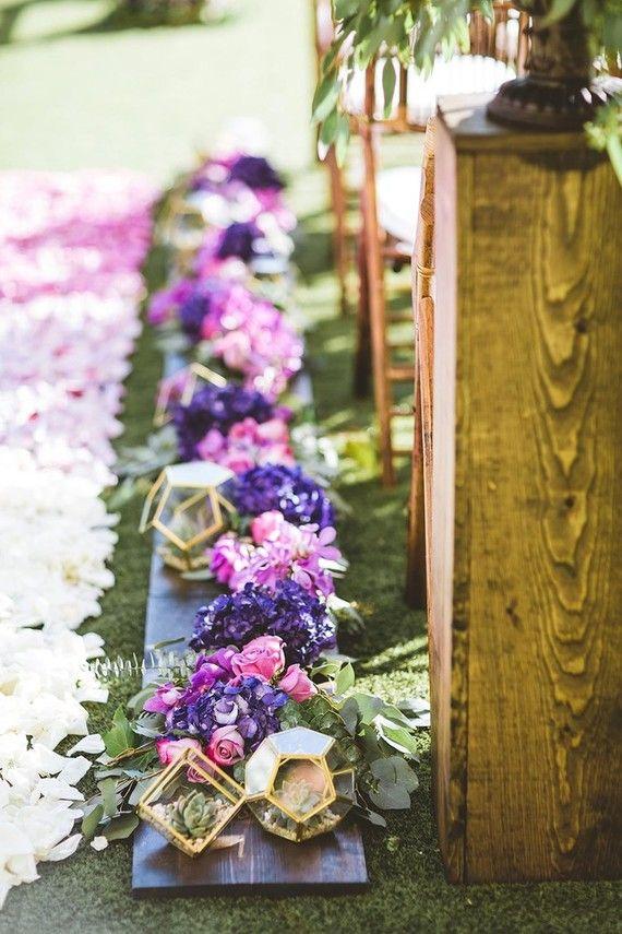 Variedade de cores também é uma vantagem da flor de lisianthus para casamentos