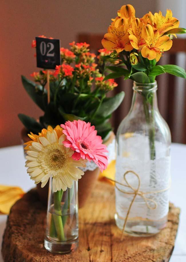 Flores para casamento: gérberas e margaridas podem ser usadas em conjunto