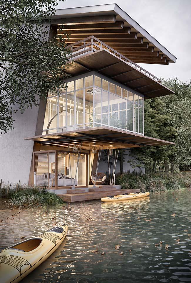 A casa perfeita para quem procura refúgio em meio à natureza