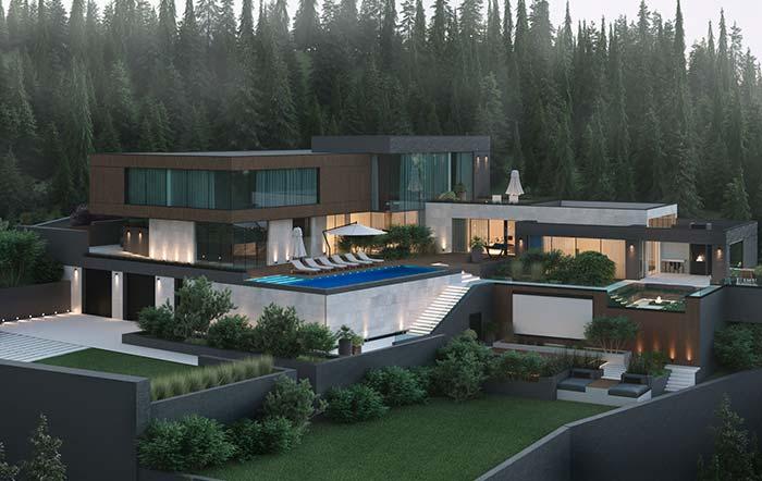 De quantos metros quadrados você precisa para viver numa casa perfeita?