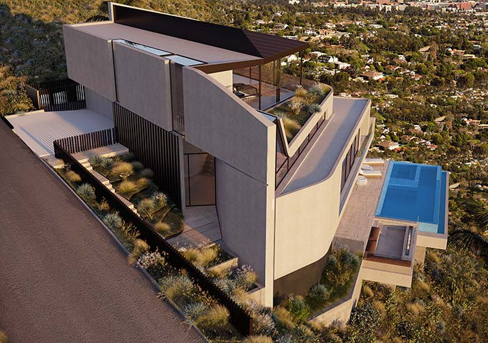 Casa perfeita com ótima vista da área externa