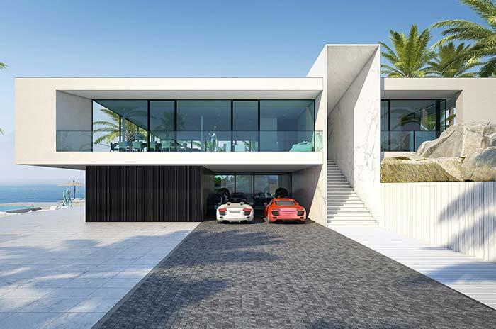 Casa perfeita de frente para o mar