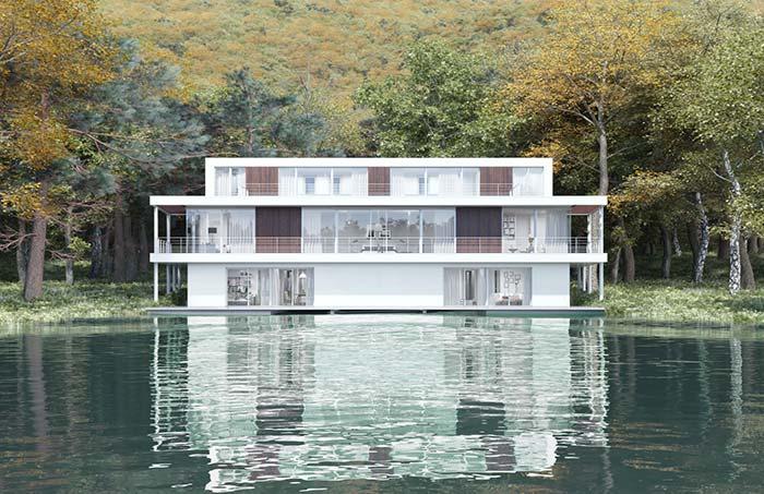 Casa perfeita de pura paz e tranquilidade