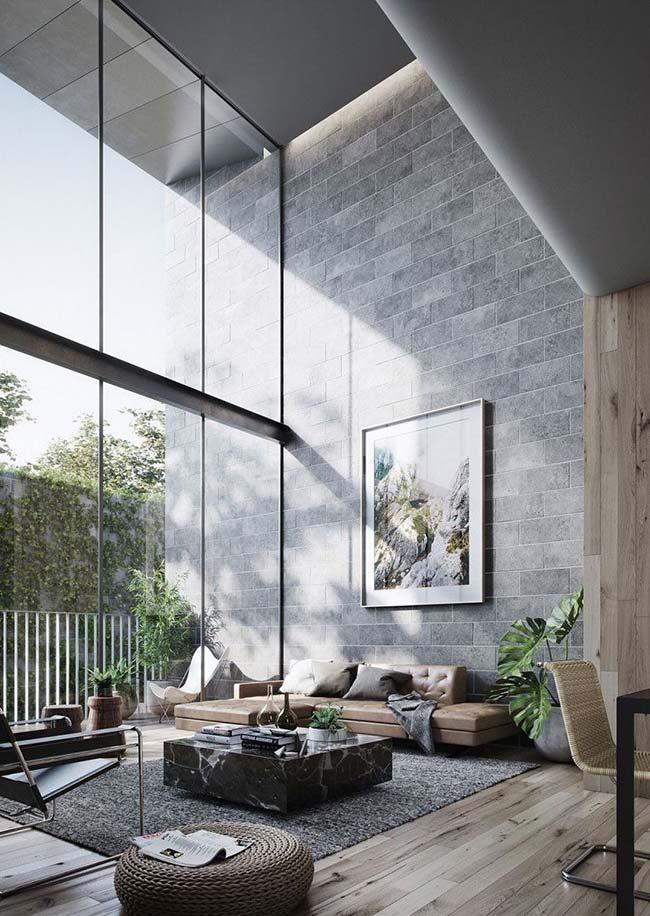 E para ser perfeita por dentro, a casa precisa ter uma boa iluminação natural e esbanjar conforto