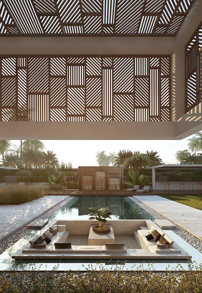 Casa perfeita: integração entre área interna e área externa da casa