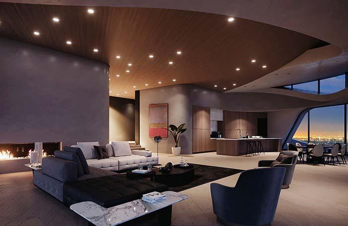 Um bom projeto de iluminação também é determinante para deixar a casa perfeita