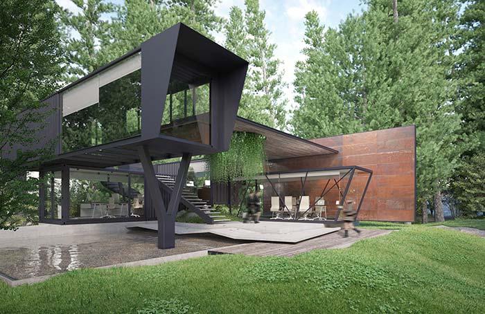 Casa perfeita para quem busca por algo moderno e marcante