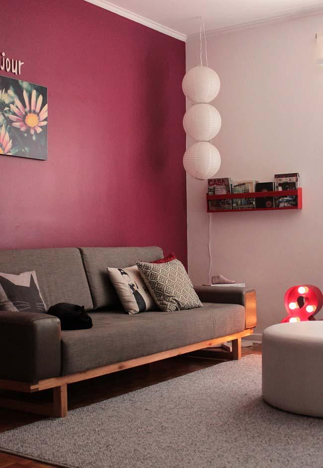 Cores para sala: vermelho é uma cor muito ligada às culturas orientais