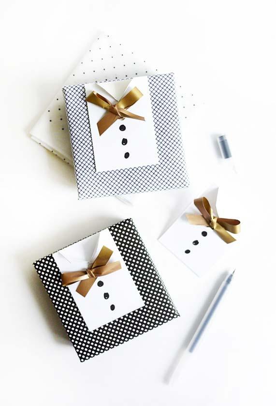 Lembrancinha Dia dos Pais: personalize o presente do seu pai com uma caixa em formato de camisa social