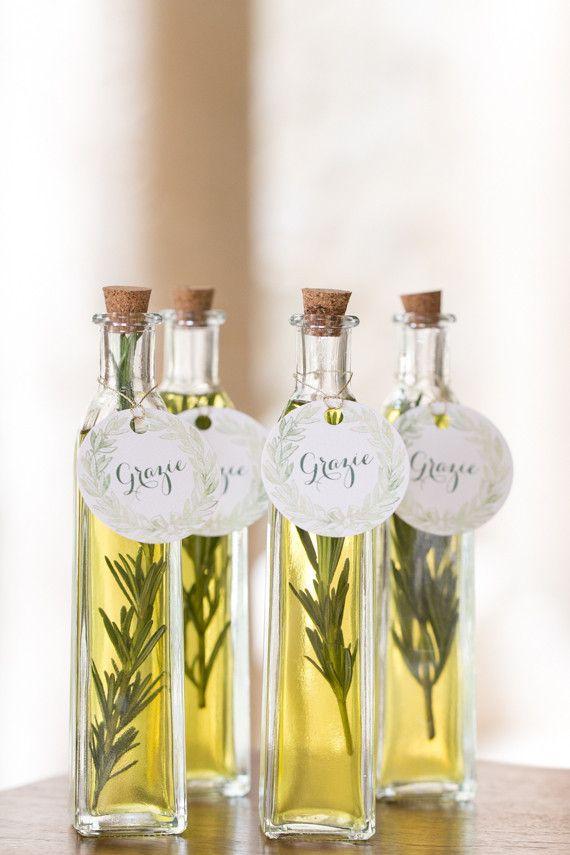 Já para os papais gourmets, uma garrafa de azeite personalizada