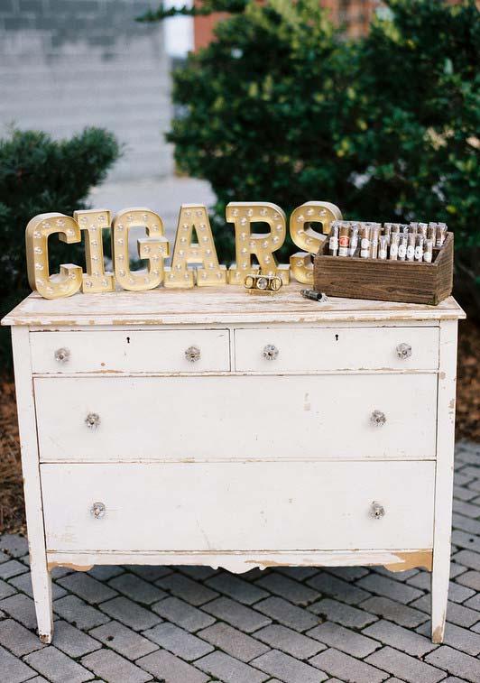Lembrancinha Dia dos Pais: caixa de cigarros e charutos